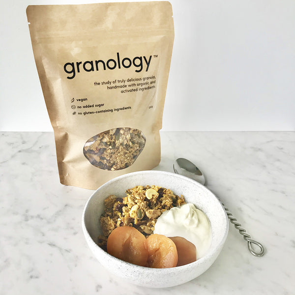 Granology - organic granola handmade in New Zealand. Activated ingredients
