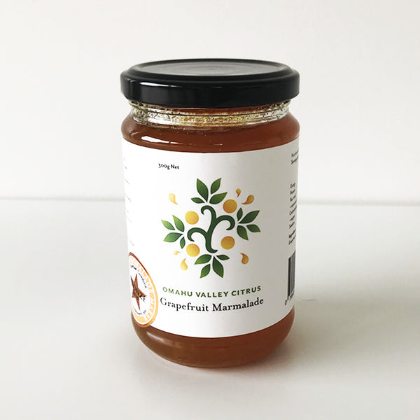 Omahu Valley Citrus Grapefruit Marmalade - homemade in NZ, this marmalade is divine.