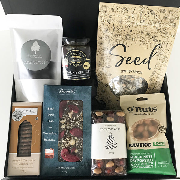 Christmas Hamper NZ / Christmas Gift Basket NZ made food products for Christmas