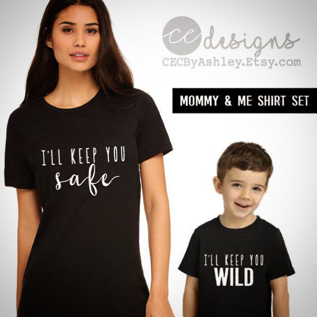 96c76489 mommy and me - mom and son shirt - SET OF 2 SHIRTS - matching shirts ...
