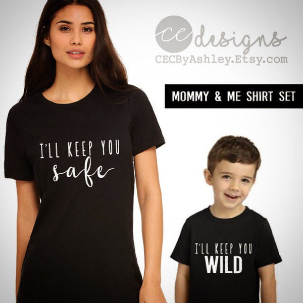 09a535b8e9894 mommy and me - mom and son shirt - SET OF 2 SHIRTS - matching shirts - baby  boy clothes - cute boy clothes - tee - top - outfit
