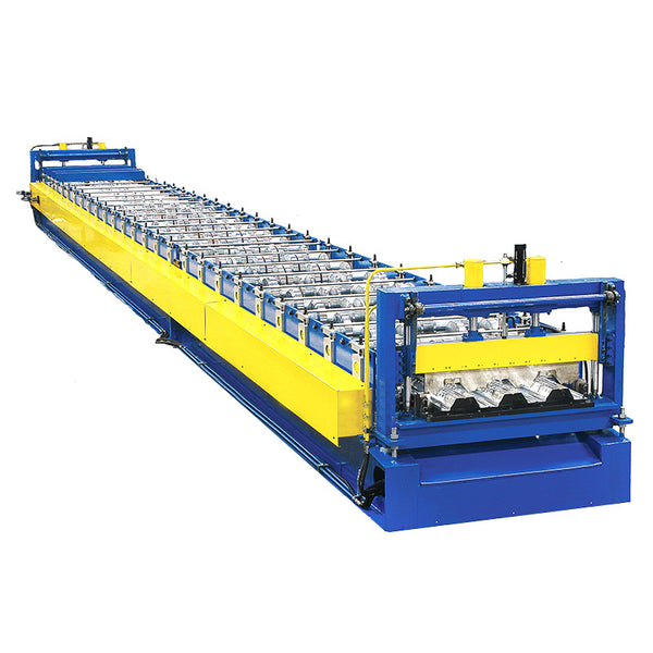 Roof boarding roll forming machine