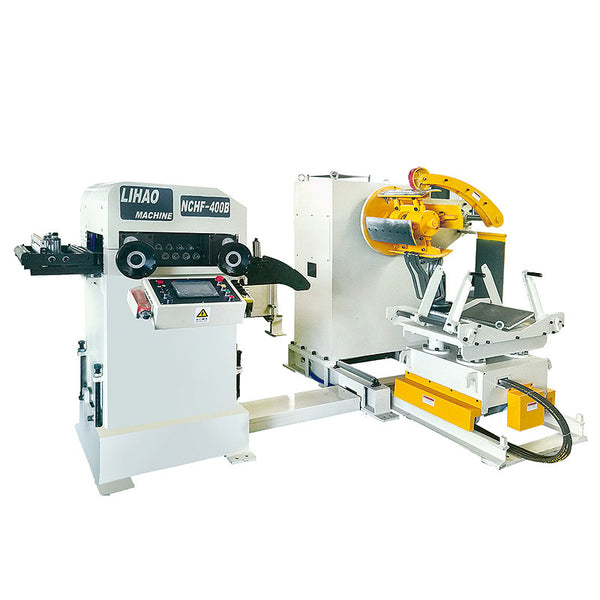 NCHF Type Straightener Feeder & Uncoiler 3 in 1 Machine For Sheet Thickness: 0.2mm~2.0mm