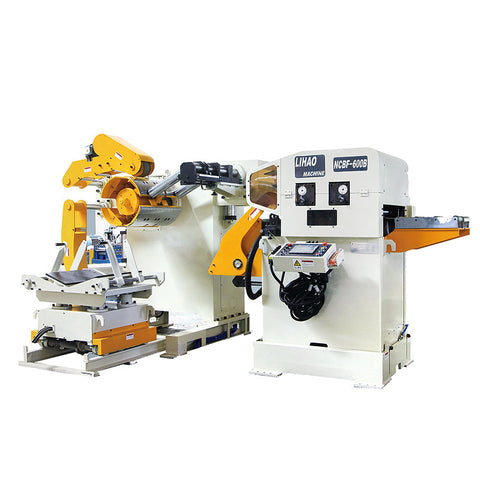 Uncoiler straightener feeder 3 in 1 machine