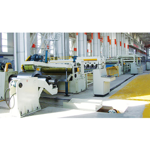 High speed Standard Steel Coil Cut To Length Line