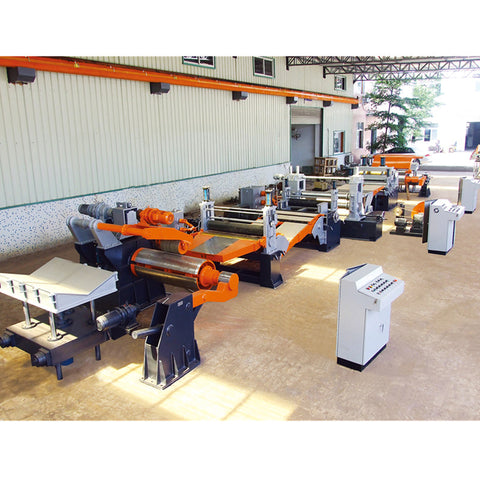 High Precision Customizable Steel Coil Slitting Line