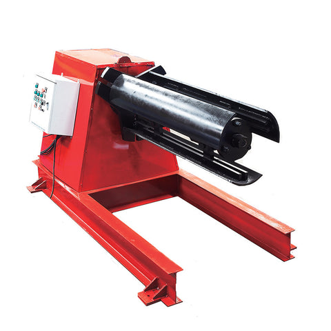 Non-standard heavy duty uncoiler machine