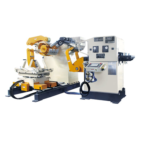 straightener feeder and uncoiler 3 in 1 machine