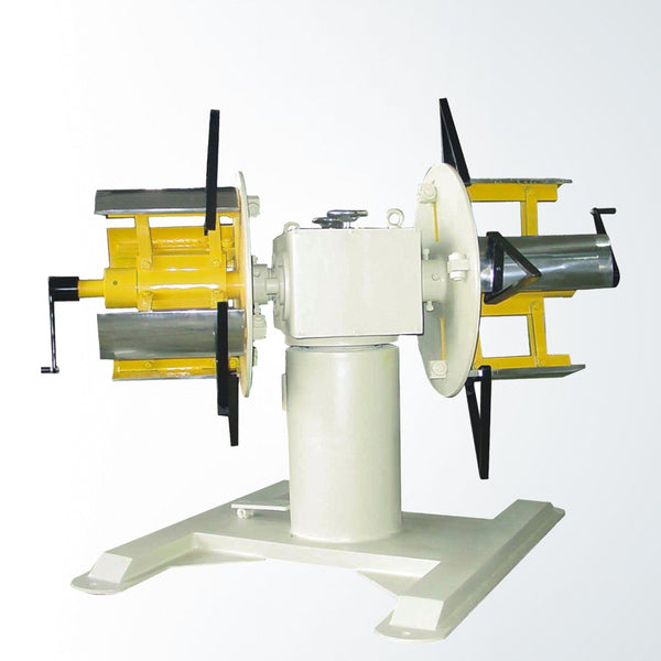 Non-Motorised Double head uncoiler