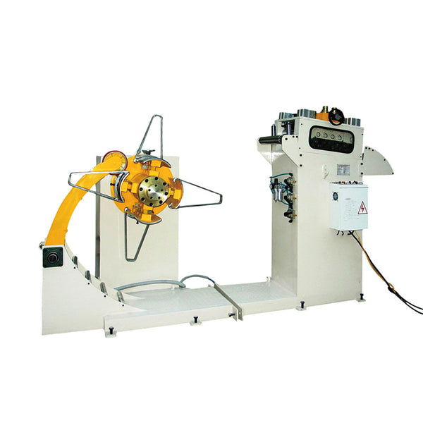 uncoiler and straightener 2 in 1 machine