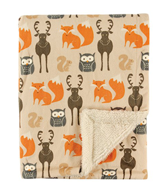 Woodland Creatures Children's Weighted Blanket (30