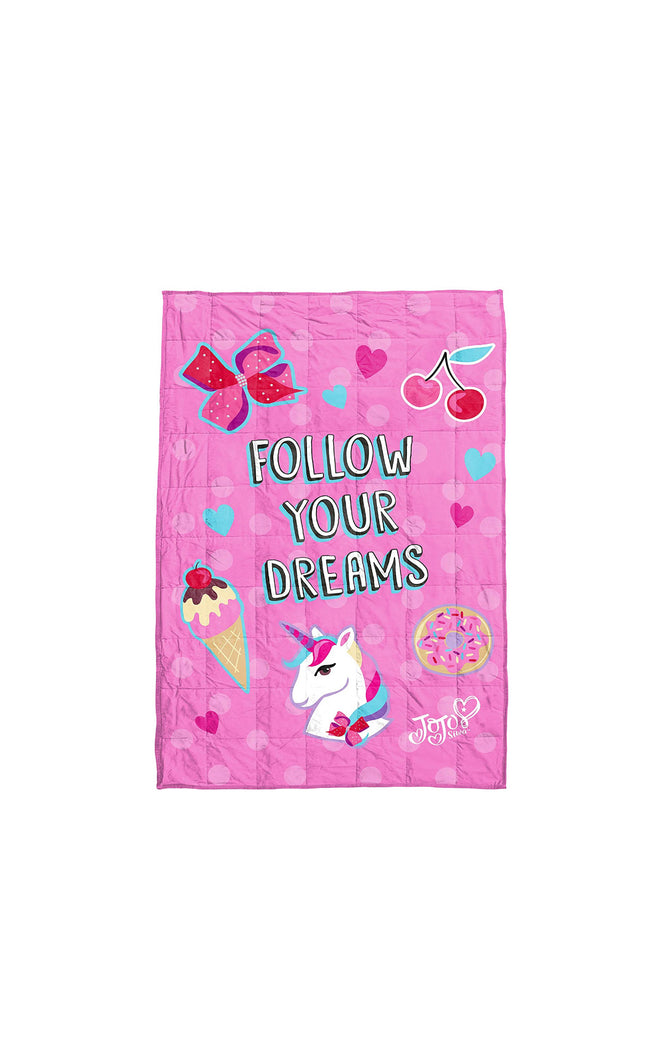"Jojo Siwa Children's Weighted Blanket (40"" x 60"")"