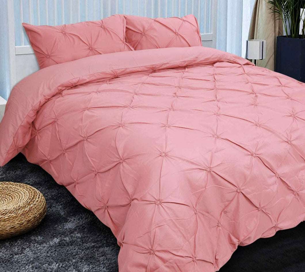 "4 Piece King Bed Duvet Cover & Weighted Blanket (104"" x 88"")"