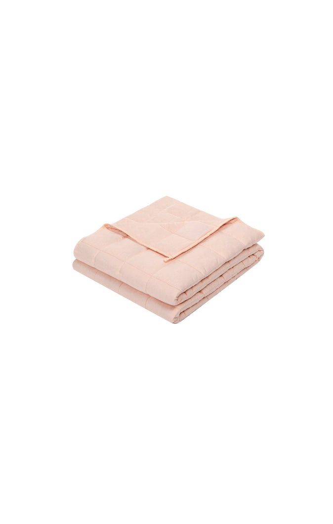 Blush Pink 100% Natural Cotton Material with Premium Glass Beads
