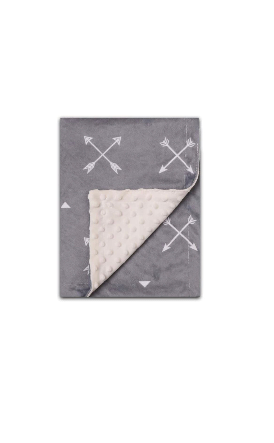 Gray Arrow Children's Weighted Blanket (30