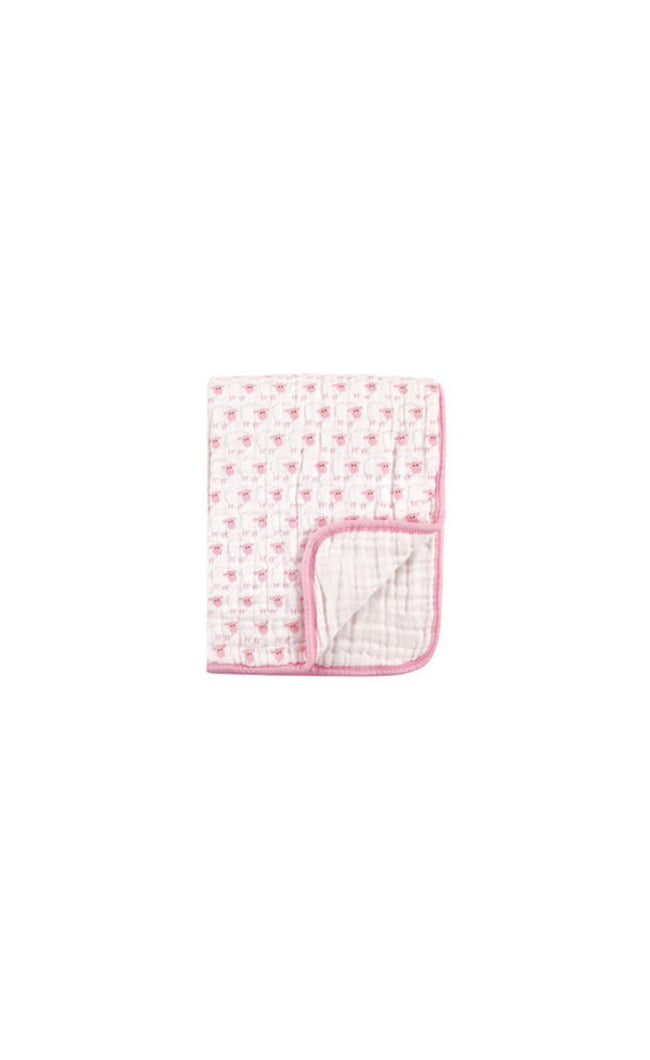 Pink Sheep Muslin Cotton Weighted Blanket (46