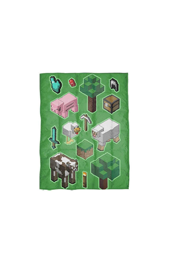 Minecraft Children's Weighted Blanket (36