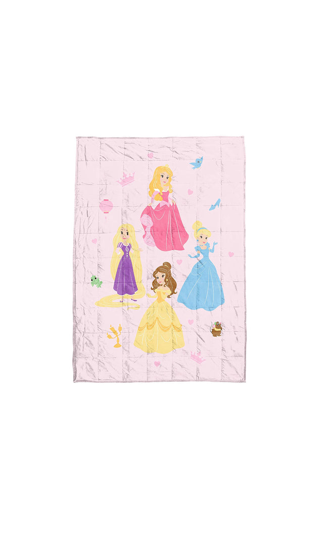 Princesses Children's Weighted Blanket (36