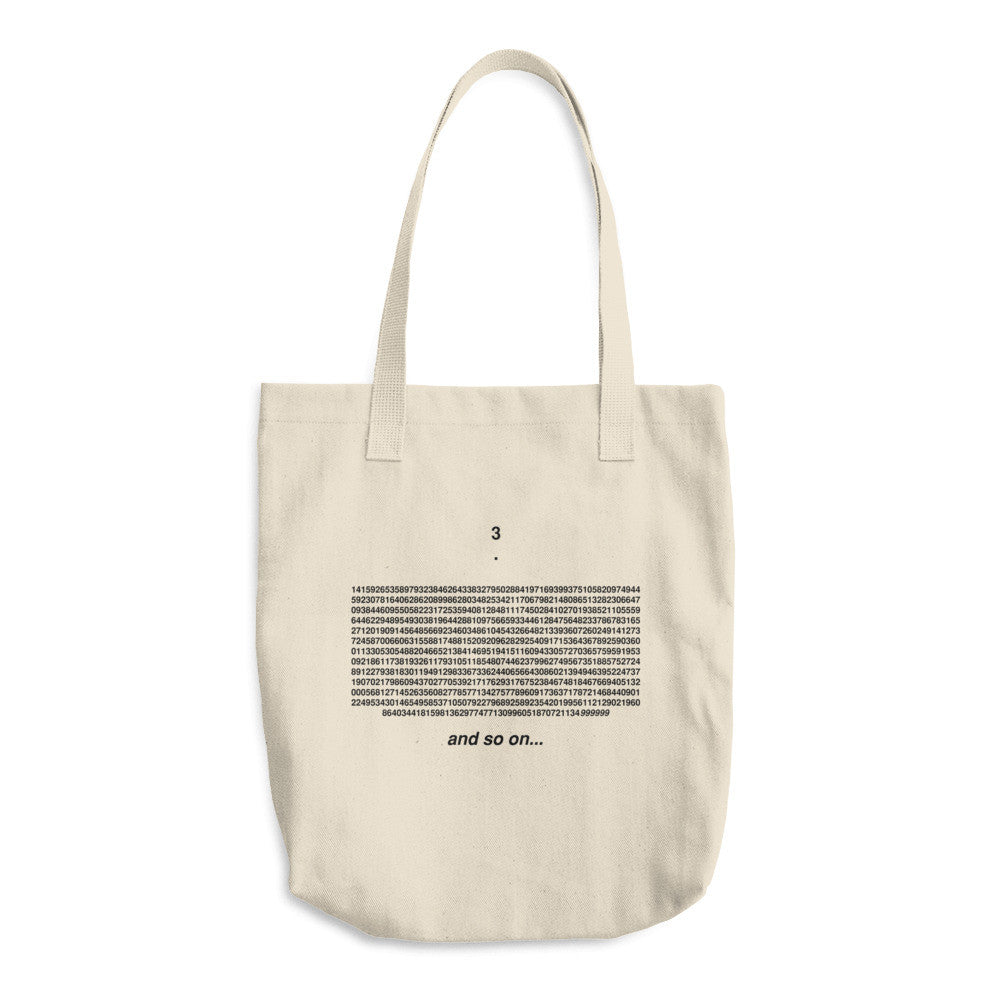 Feynman Point Cotton Tote Bag