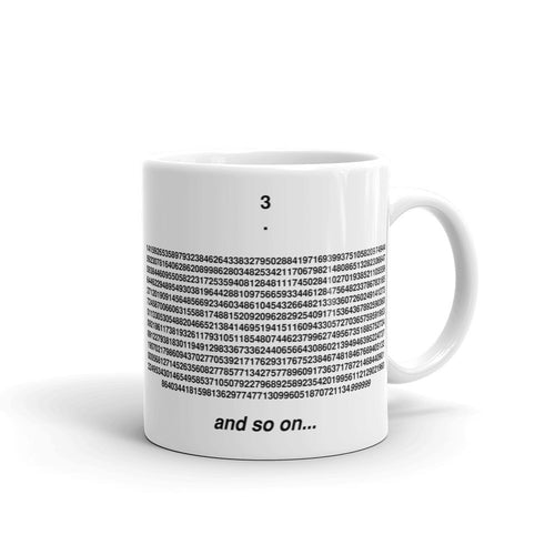 Feynman Point Pi Mug