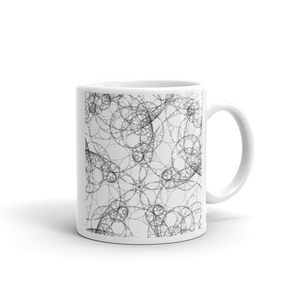 Chaotic Apollonian Packing Mug