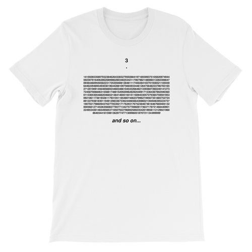 Feynman Point Pi Shirt