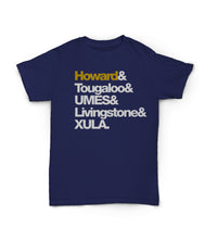 HBCUnity Adult Unisex Tee (Customize Your Top 5 HBCUs)