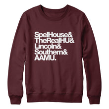 HBCUnity Adult Unisex Sweatshirt (Customize Your Top 5 HBCUs)