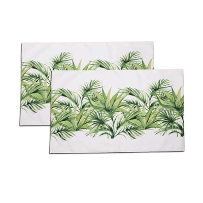 Green Heart Table Mats (Set of 2)