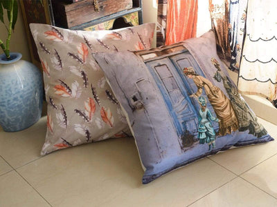 Vintage Cushion Covers Serenity Blissful Living