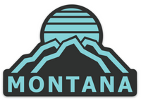 Retro Montana Decal