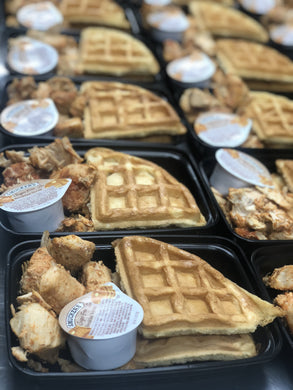 LEAN GAIN Chicken and waffles