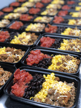 LEAN GAIN Ground turkey taco bowl