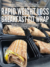 LEAN GAIN Breakfast wrap with salsa