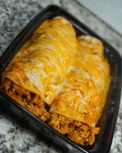 LEAN GAIN Ground turkey enchiladas