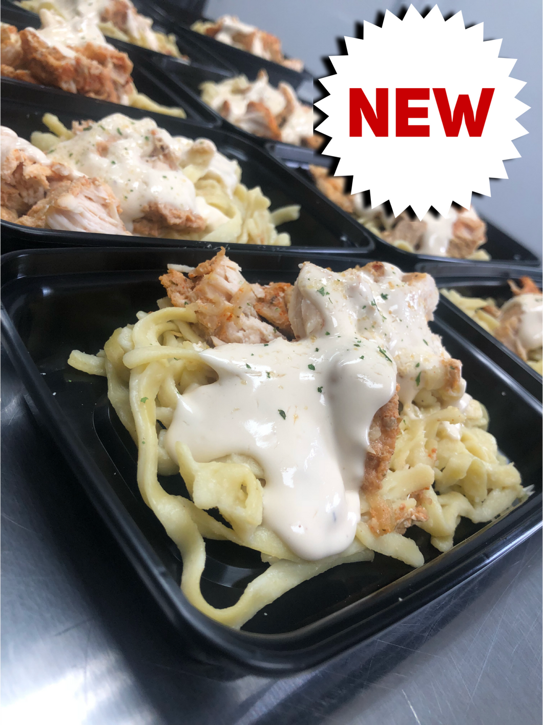 LEAN GAIN Chicken alfredo
