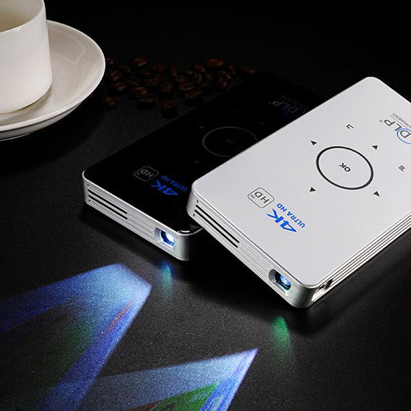 Smart  Wi-fi 4K Ultra Mobile Wireless Projector