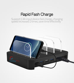 Tables USB Charger 4-Ports Fast Charging