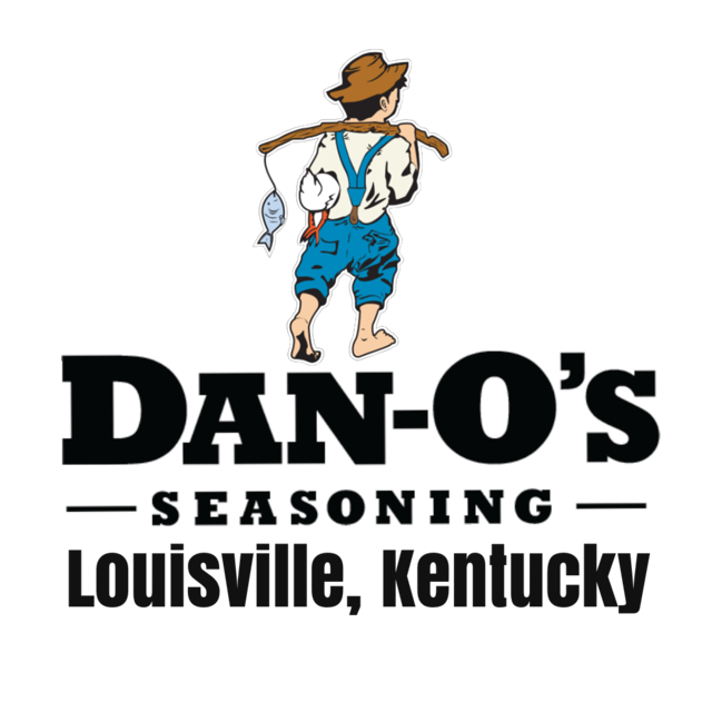 the logo of Dan-O's Seasoning. the little fisher boy