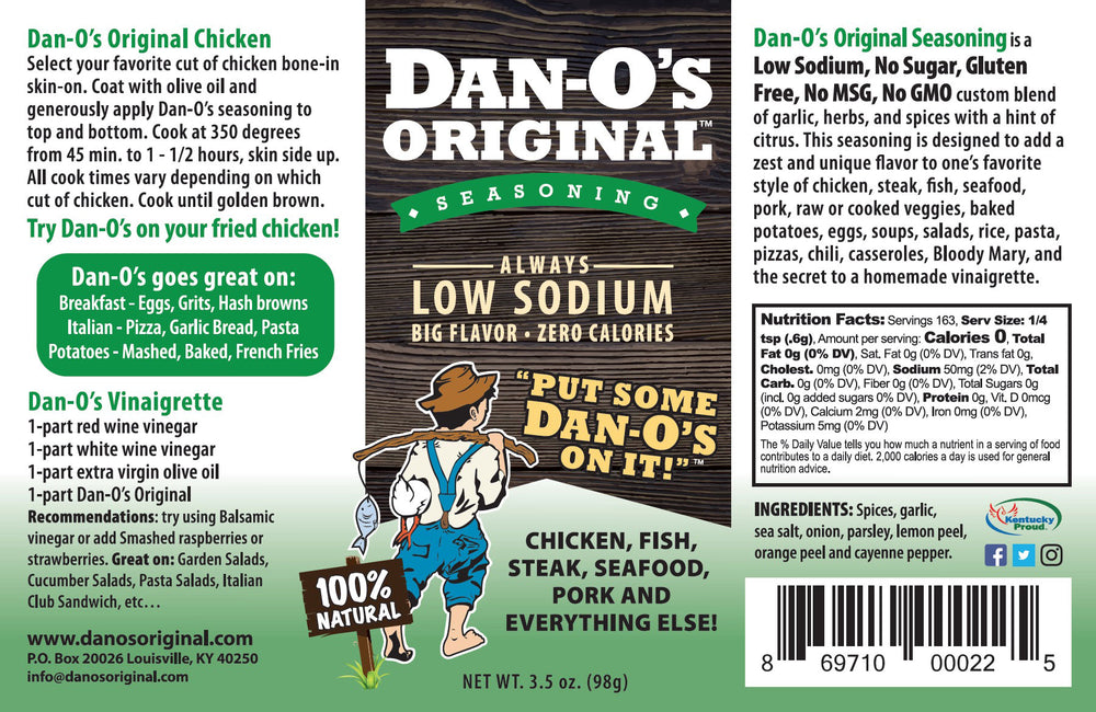 Dan-O's Original Seasoning - Dan-O's Orginal Seasoning