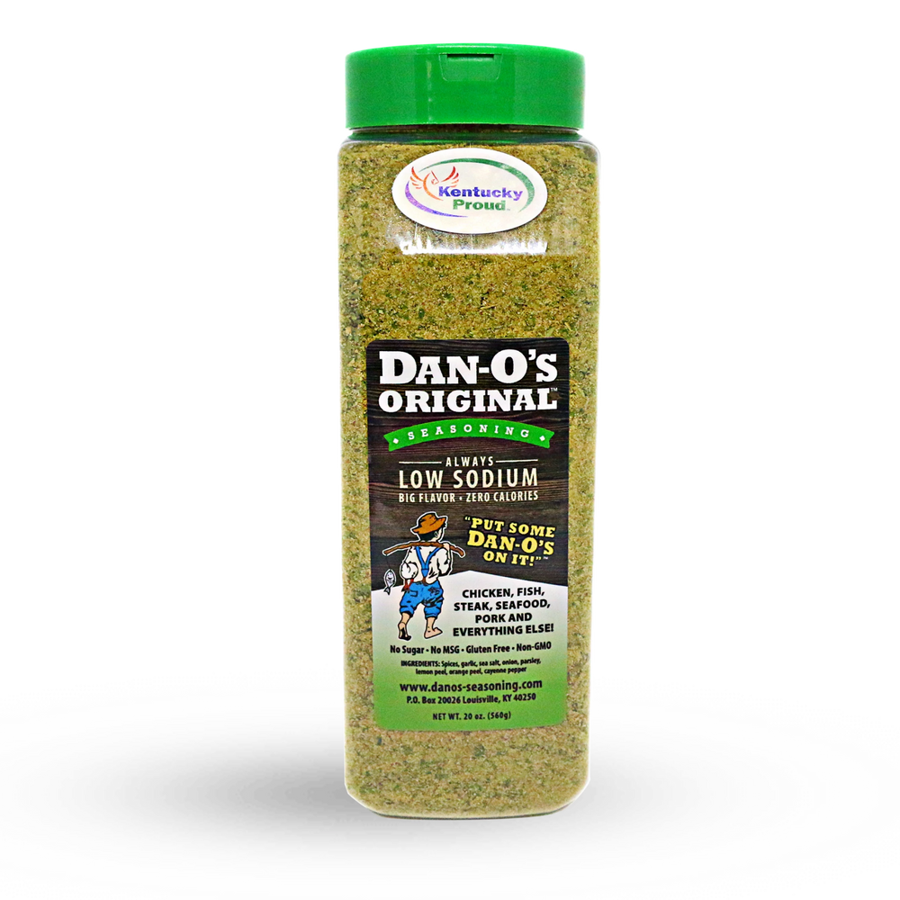 (6 X THE SPICE) 20oz. Dan-O's Original Seasoning