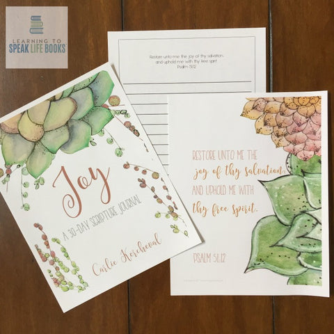 Joy: A 30-Day Scripture Journal