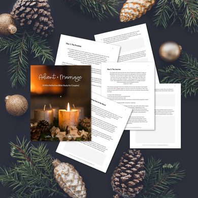 Advent + Marriage: A Mini Reflective Bible Study for Couples
