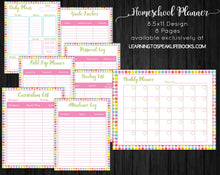 Printable Homeschool Planner (PDF)