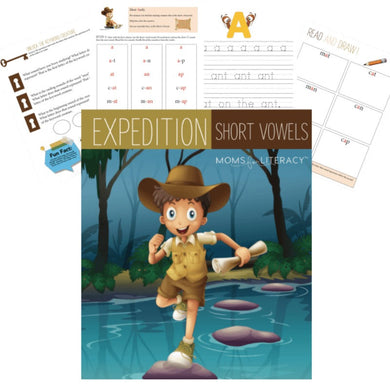 Expedition Short Vowels Printable (PDF) Packet