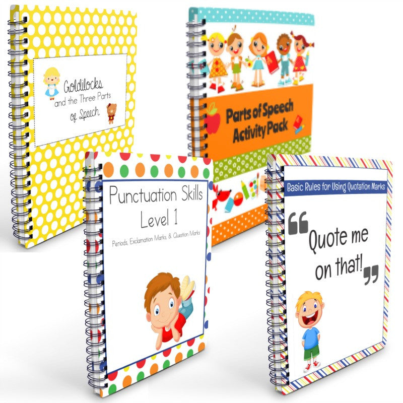 Fun With Grammar Printable Homeschooling Pack (PDF)