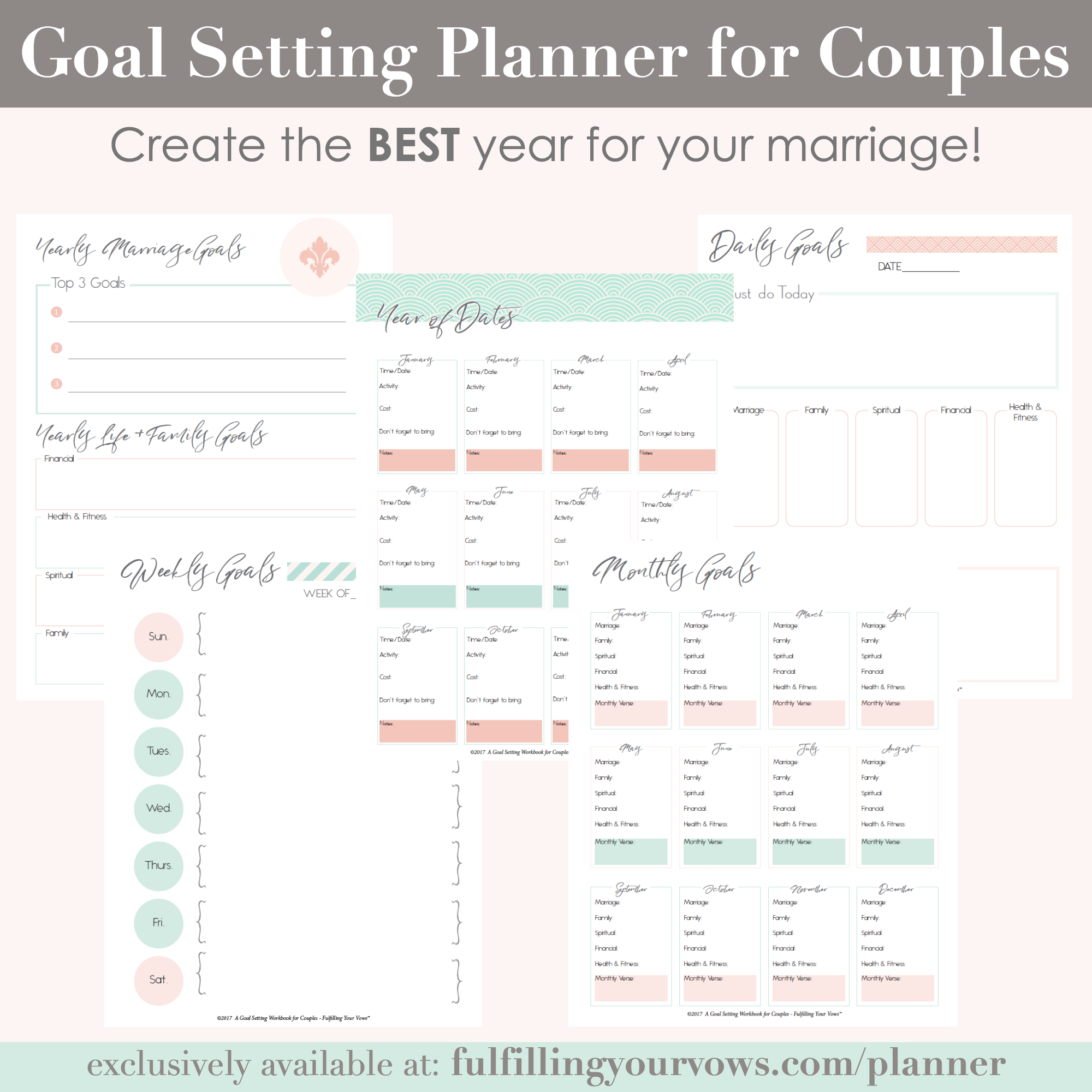 photograph relating to Planner Pdf referred to as Objective Environment Planner for Partners (PDF)