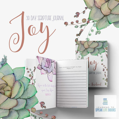 Joy: A 30-Day Scripture Journal (PDF)