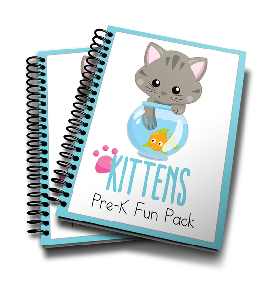 Kittens Pre-K Printable Fun Pack