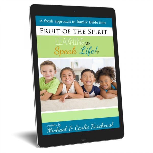 Fruit of the Spirit Family Bible Study Guide (eBook)